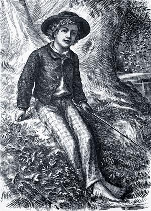 Приключения Тома Сойера с иллюстрациями 1-го издания 1876 года