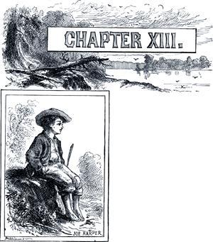 Приключения Тома Сойера. Глава XIII. Джо Гарпер.